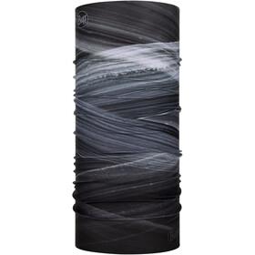 Buff Run Bonnet, reflective geotrik black